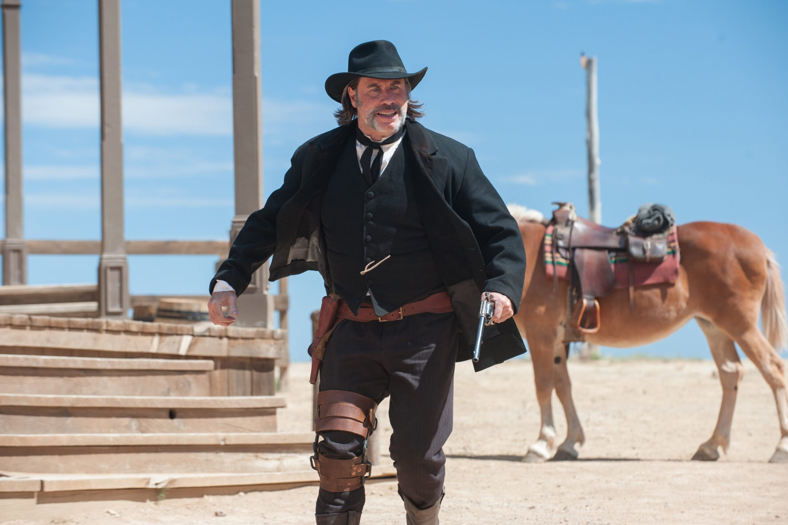 You Need To Watch This John Travolta Western That's Dominating Netflix's Top Ten