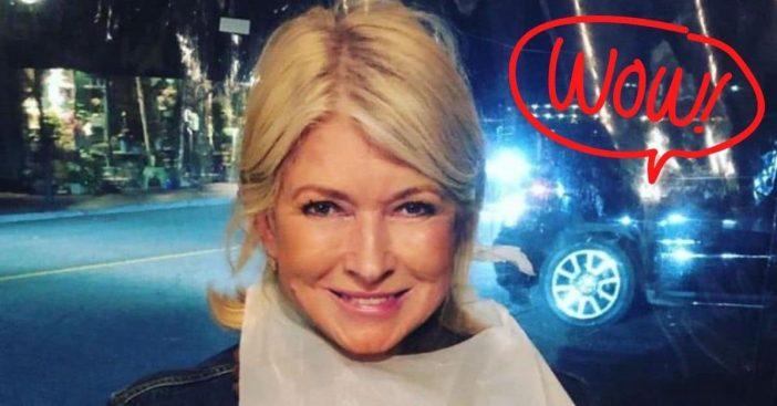 Martha Stewart looks ageless in her new photos