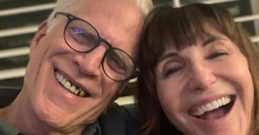 Mary Steenburgen and Ted Danson celebrate their 25th anniversary with an embarrassing photo