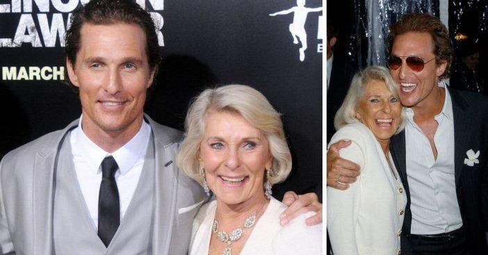Matthew McConaughey mother Kay