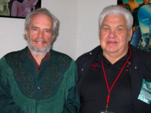 Merle Haggard and Biff Adam