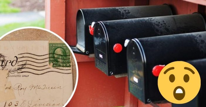 Michigan woman receives letter postmarked from 1920