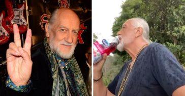 Mick Fleetwood joins TikTok to recreate Dreams video