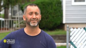 New Jersey resident Brian Schwartz lost his job and gained a new path
