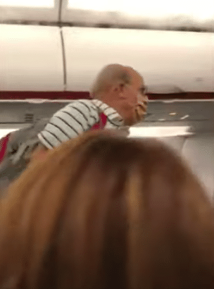 allegiant airline flight attendant mask