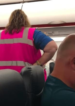 allegiant airline flight attendant face mask