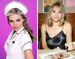 Priscilla Barnes then and now