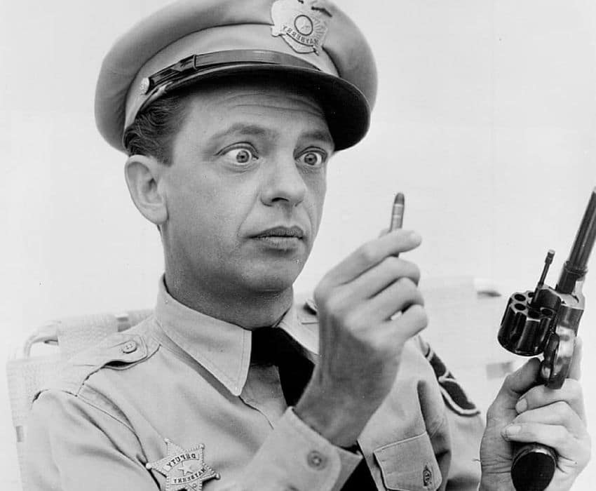 Barney Fife in The Andy Griffith Show