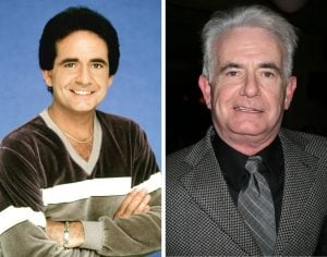 Richard Kline in the cast of Three's Company and today