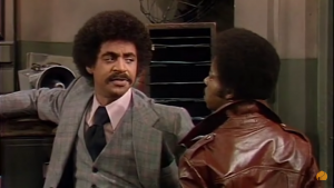 Ron Glass made a lasting impression on Barney Miller