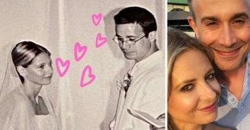 Sarah Michelle Gellar and Freddie Prinze Jr celebrate their 18th anniversary
