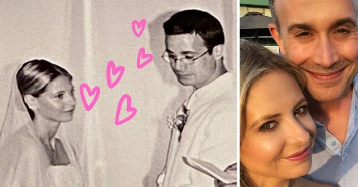 Sarah Michelle Gellar and Freddie Prinze Jr celebrate their 18th anniversary