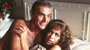 Sean Connery and Valerie Leon 1983