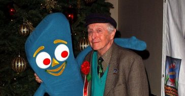 See Art Clokeys claymation before he made Gumby