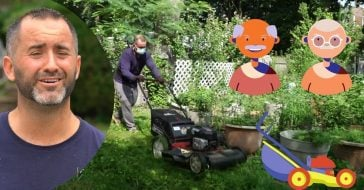 Seniors and veterans can have their lawn tended to free of charge