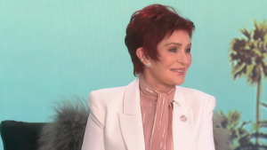 Sharon Osbourne is back to red hair