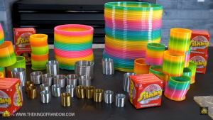 Since its creation, the slinky exploded in popularity