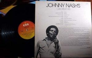 Singer Johnny Nash