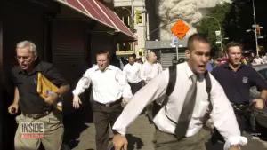Stephen Cooper fleeing the World Trade Center