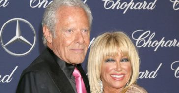 Suzanne Somers and Alan Hamel are celebrating their 44th anniversary