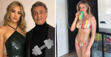 Sylvester Stallone daughters share the odd workout advice he gives them