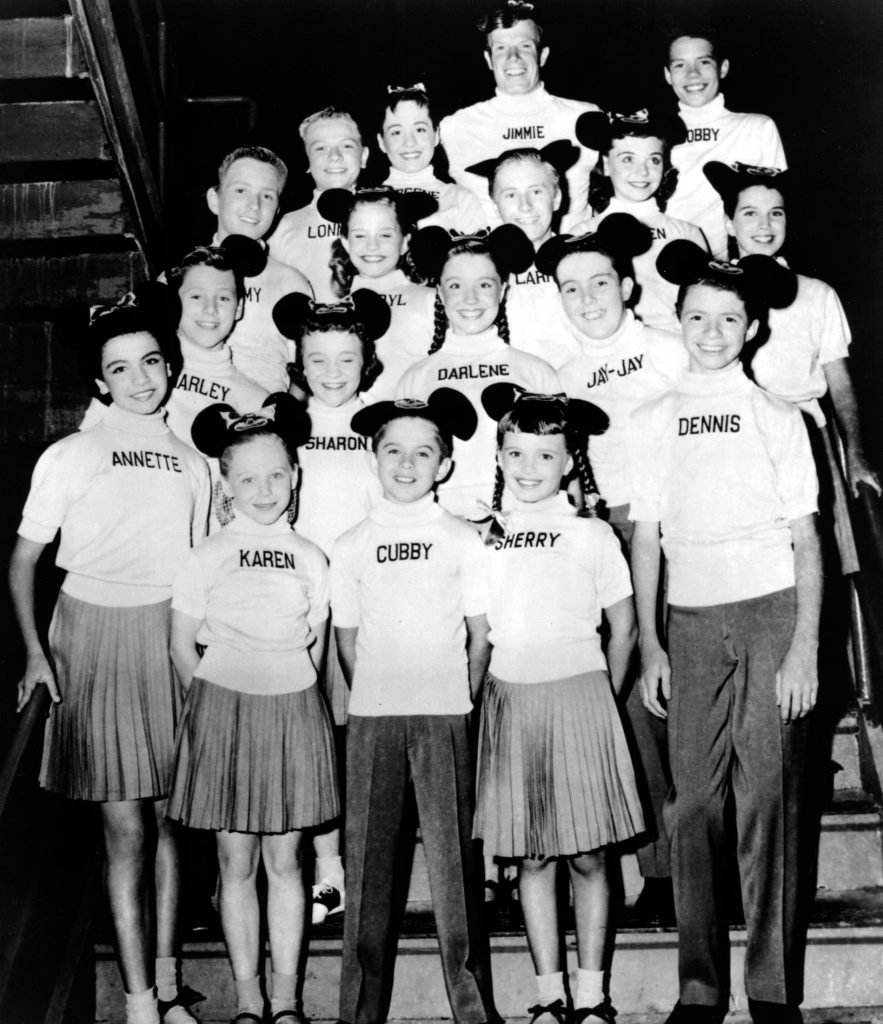 annette-funicello-and-the-mickey-mouse-club-cast