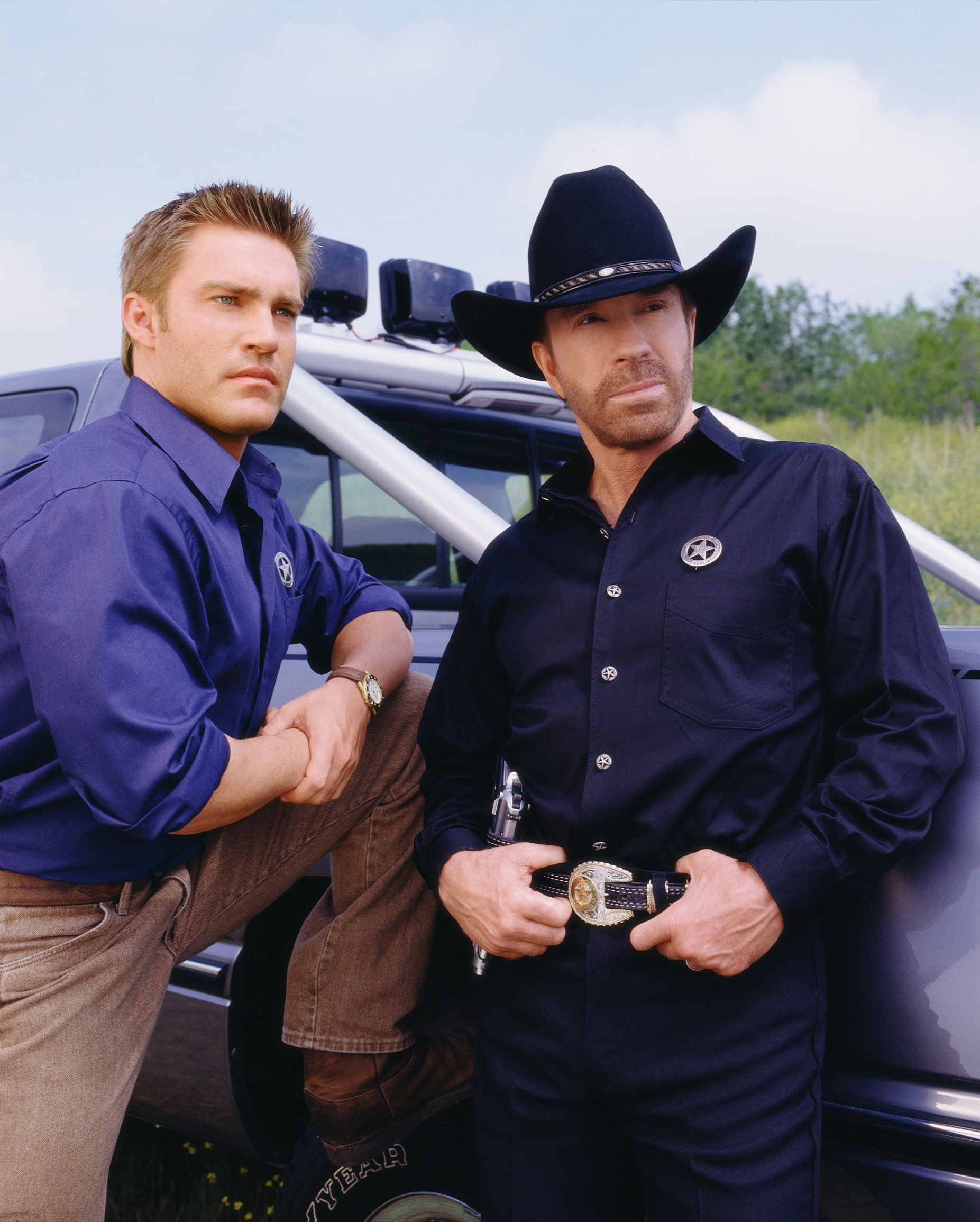 walker, texas ranger then and now