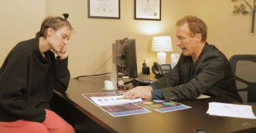 Tallulah Willis consults brain scans