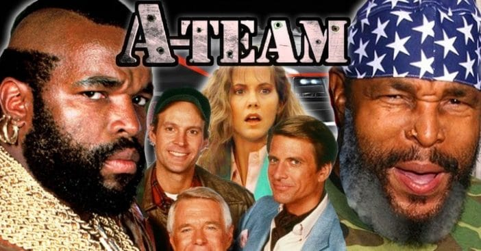 The A-Team cast then and now