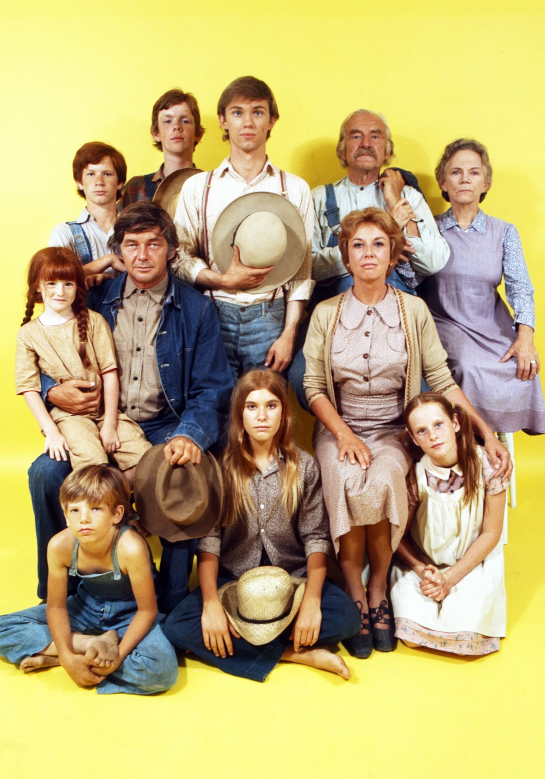 The Waltons became a family in the show and real life