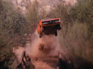 The car from Dukes of Hazzard is famous for outrageous jump stunts