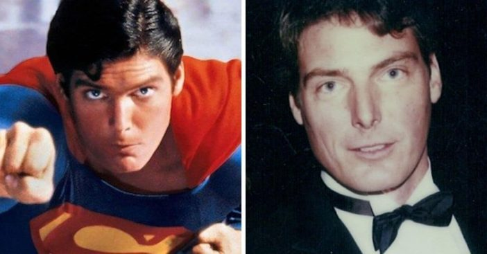 The cast of 1978 Superman then and now