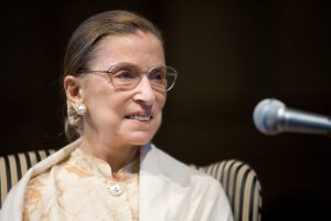 The late Justice Ruth Bader Ginsburg