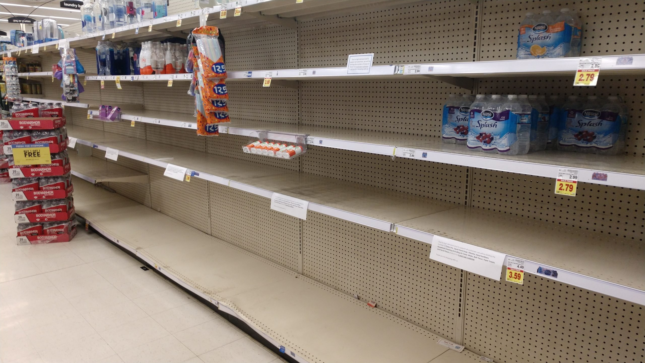 The pandemic left a lot of retailers out-of-stock on many items