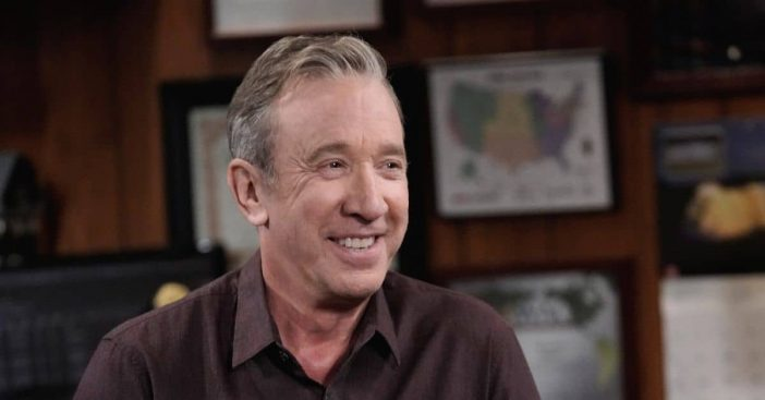 Tim Allen shares his thoughts on the pandemic with a new face mask
