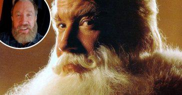 Tim Allen shows off his Santa beard