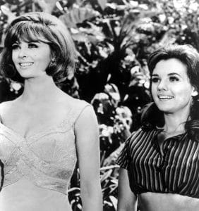 Tina Louise and Dawn Wells