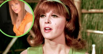 Tina Louise as Ginger Grant and after