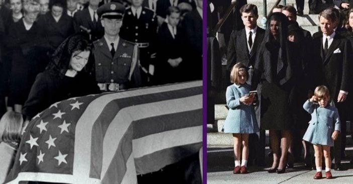 Toddler JFK Jr. Saluted His Father's Casket