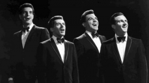 Tommy DeVito as part of The Four Seasons