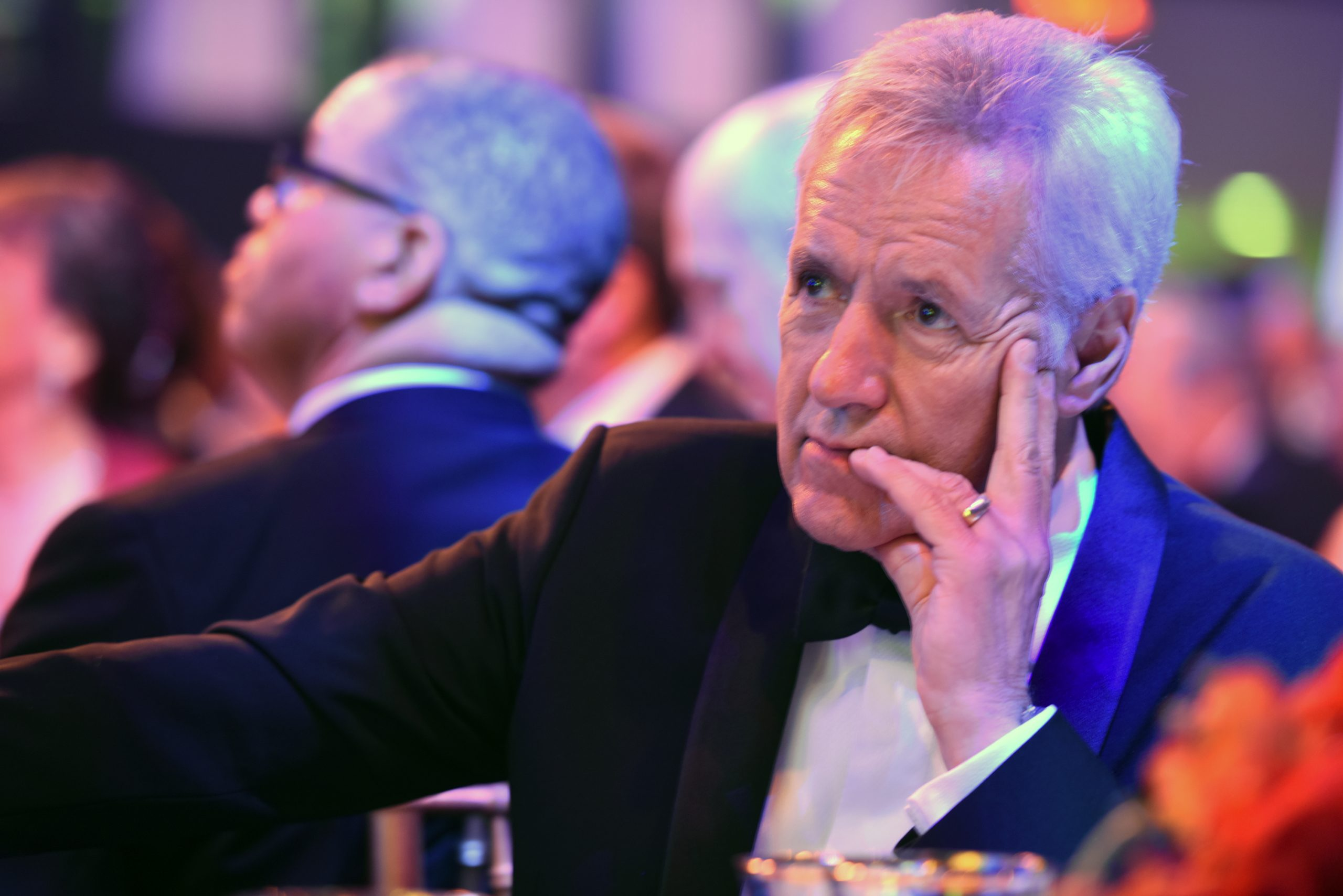 Trebek's video aired posthumously