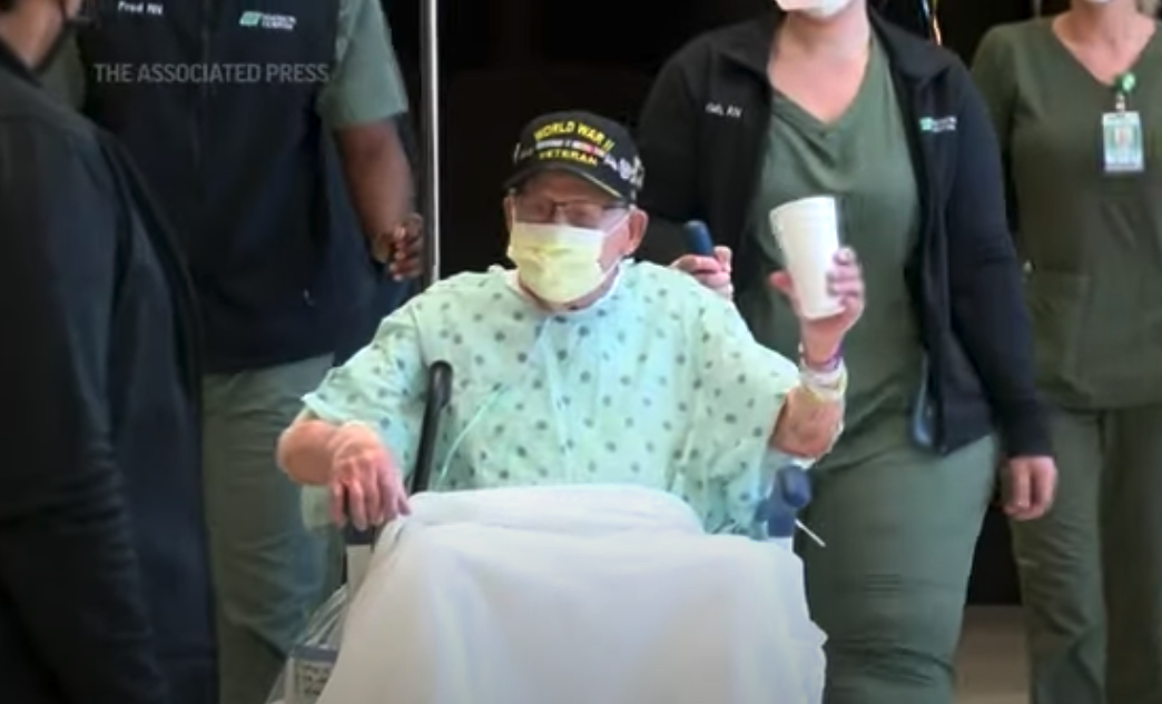 WWII Veteran Beats COVID-19 In Time To Celebrate 104th Birthday