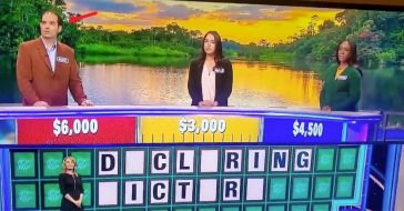 'Wheel Of Fortune' Contestant Gets Ahead Of Himself With Answer, Fans Are Cringing At It