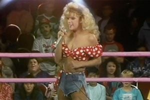 Wrestler Beckie Mullen