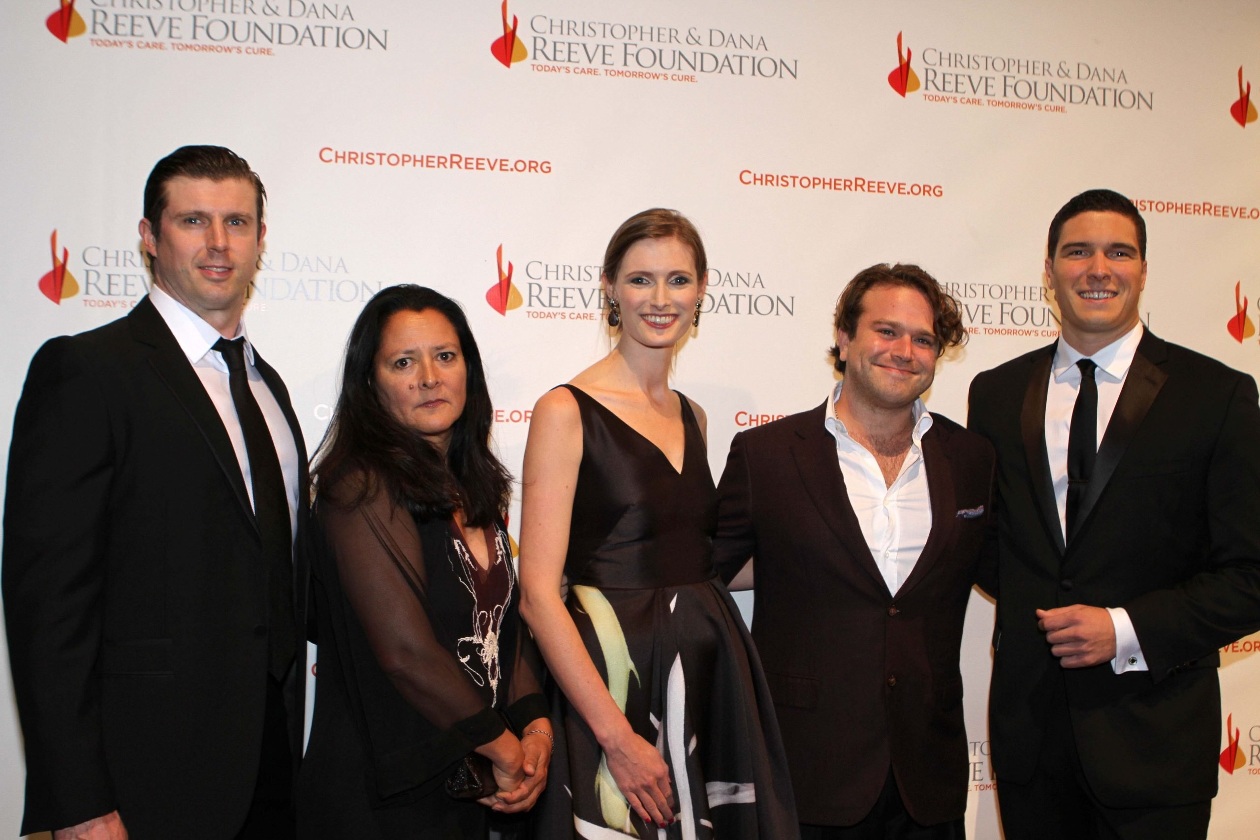 Zak Williams, pictured second from the right, is a fierce advocate for mental health discussions