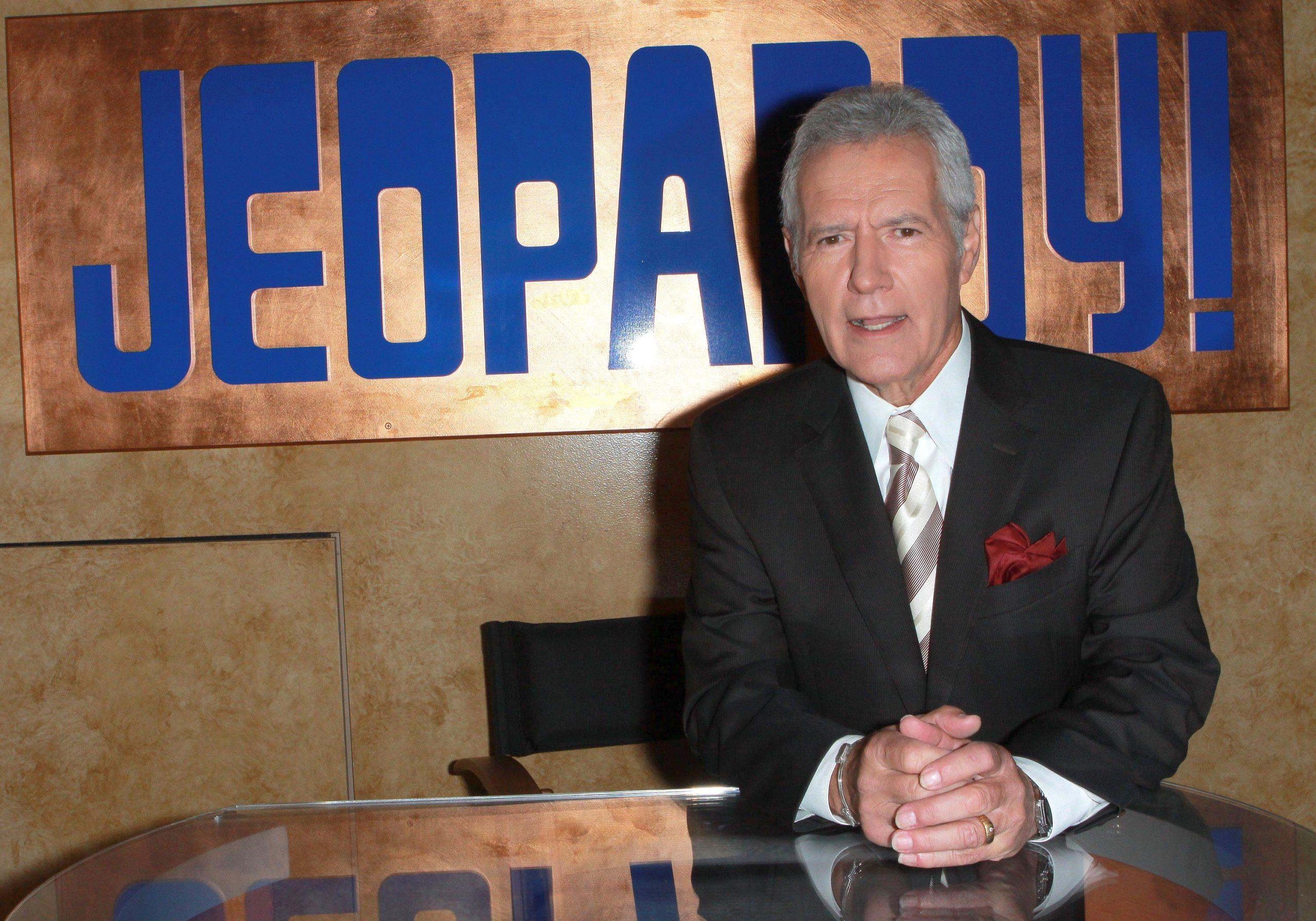 alex trebek host of jeopardy
