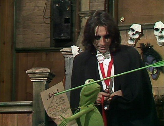 alice cooper kermit the muppet show