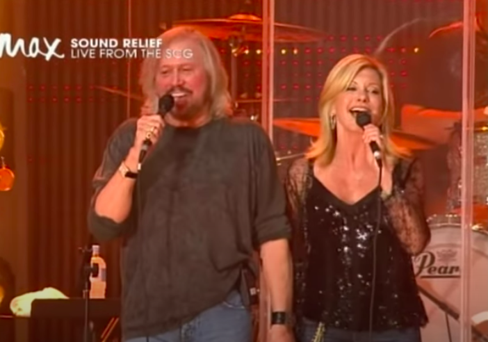 WATCH: Olivia Newton-John And Barry Gibb Sing Stunning Version Of 'Islands In The Stream'