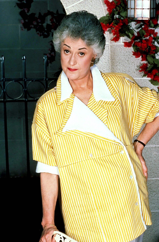 Bea Arthur from The Golden Girls