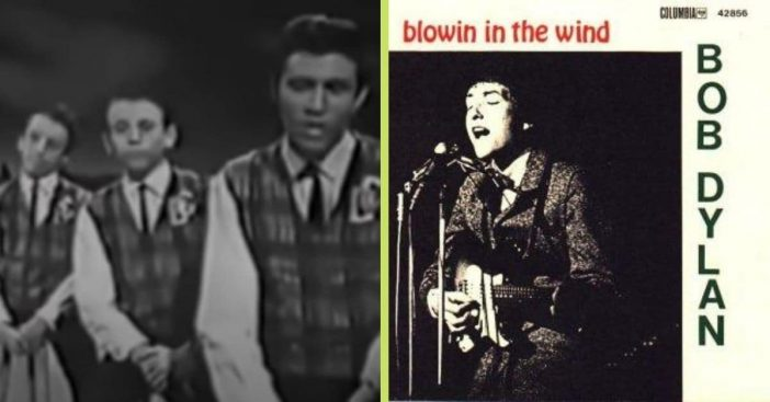 bee gees perform blowin in the wind 1963